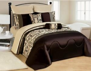 XXL Moderne Doppelbett Bettgarnitur